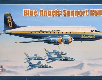 """Сборная модель Американский военно-транспортный самолет Douglas R5D """"Blue Angel"""""""