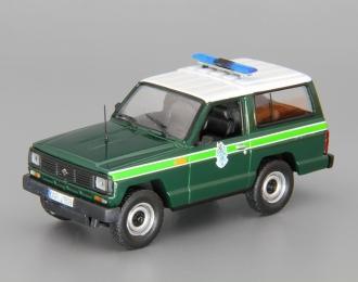 NISSAN Patrol Национальная гвардия Португалии (1985), Полицейские Машины Мира 54, green