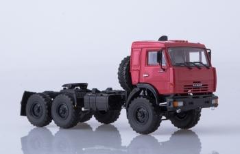 КАМАЗ-44108 седельный тягач, вишневый