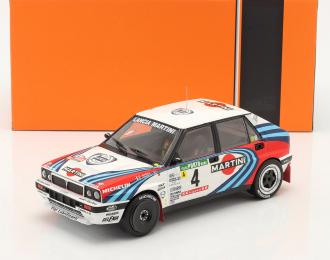 """LANCIA Delta Integrale 16V #4 """"Martini"""" Auriol/Occelli 2 место Rally Portugal 1990"""