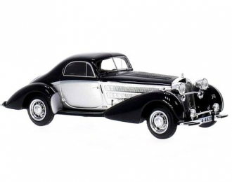 HORCH 853 Special Coupe (1937), silver / black
