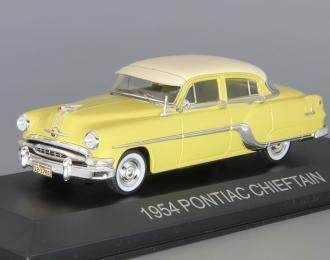 PONTIAC CHIEFTAIN (1954), yellow / light beige