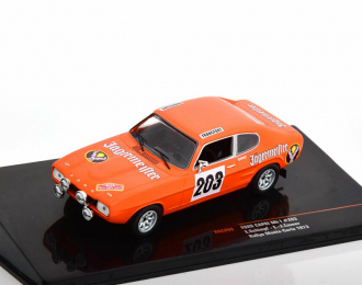 """FORD Capri MKI #203 """"Jägermeister"""" E.Schimpf - E.J.Zauner Rally Monte Carlo 1973"""