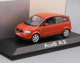 AUDI A2 (2001), orange metallic