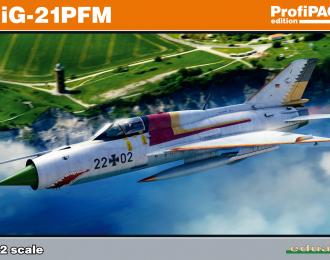 Сборная модель МиГ-21ПФМ