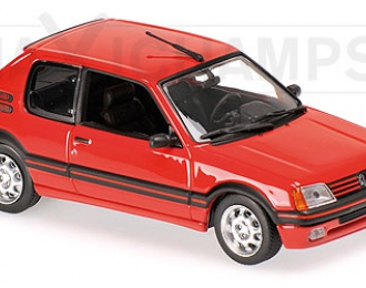 PEUGEOT 205 GTI (1990), red