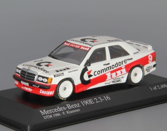 MERCEDES-BENZ 190E 2.3-16 W201 Commodore Franz Klammer - Team Marko Rsm - DTM (1986), white