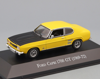 FORD Capri 1700 GT (1969), yellow / black