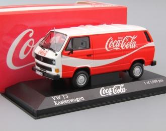 VOLKSWAGEN T3 Kastenwagen Coca Cola (1983), red