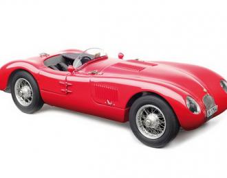 Jaguar C-Type, (red) actual condition, Christian Jenny