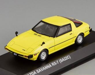 MAZDA Savanna RX-7 (SA22C), yellow