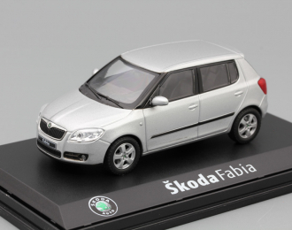 SKODA Fabia II 2007, Silver Brilliant Metallic