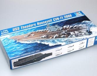 Сборная модель Американский авианосец USS THEODORE ROOSEVELT CVN-71 (2006г.)