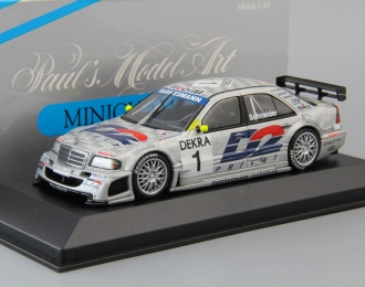 MERCEDES-BENZ C-Class DTM Team AMG B. Schneider #1 (1996), silver