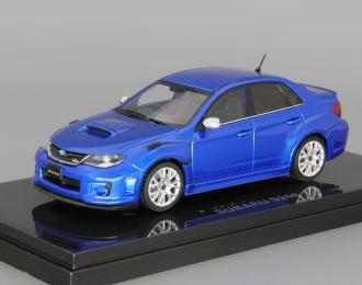 SUBARU Impreza WRX STI S206 (2011), blue