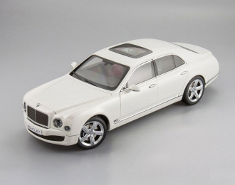 Bentley Mulsanne Speed 2014 (ghost white)
