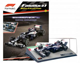 WILLIAMS FW34 Пастора Мальдонадо (2012), Formula 1 Auto Collection 55