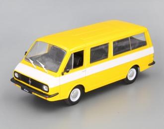 (Уценка!) РАФ 2203 Латвия, Автолегенды СССР 26, жёлтый с белой полосой