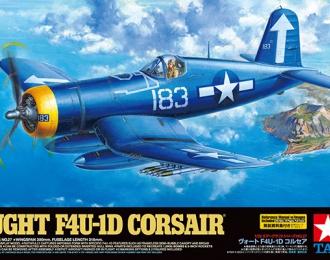 Сборная модель самолет Vought F4U-1D Corsair