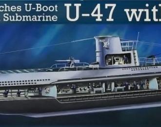Сборная модель Немецкая подводная лодка U-47 с интерьером