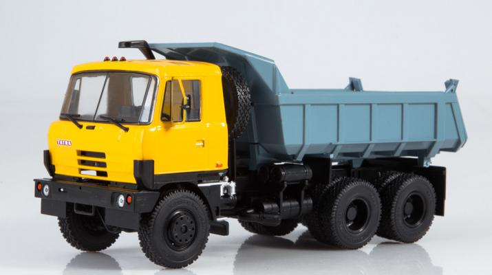 Tatra 815S1 самосвал, желтый / серый