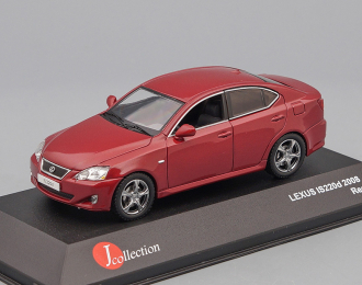 LEXUS IS220d 2008 Vermillion, red