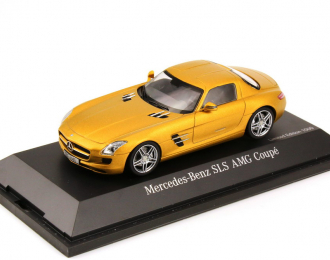 (Уценка!) MERCEDES-BENZ SLS AMG Coupe C197 2009, gold