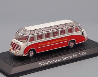 Kassbohrer Setra S8 (1951), red / white