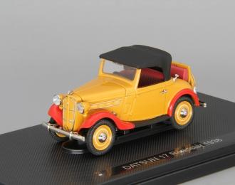 DATSUN 17 Roadster (1938), brown