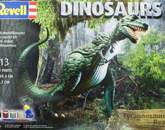 Сборная модель Динозавр Тиранозавр Рекс (Подарочный набор)