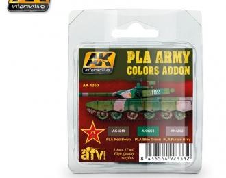 PLA ARMY COLORS ADDON SET