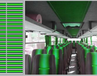 Набор декалей Декор для сидений IKARUS (зеленый) (100х140)