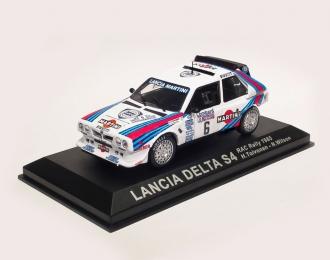 LANCIA Delta S4 #6 RAC Rally H. Toivonen - N. Wilson (1985), white