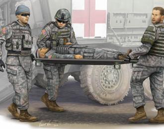 Сборная модель Солдаты  Армия США Бригада Скорой Помощи