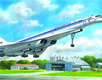 Сборная модель Ту-144Д, Советский сверхзвуковой пассажирский самолет
