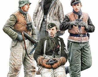 Немецкий танковый экипаж. Харьков 1943