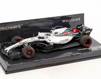 WILLIAMS MARTINI RACING MERCEDES FW41 - LANCE STROLL - 2018