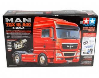 Сборная модель Радиоуправляемый тягач MAN TGX 18.540 4x2 XLX