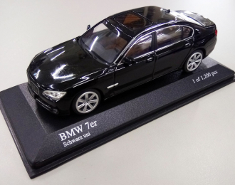 BMW 7-Series (F02) 2008, black
