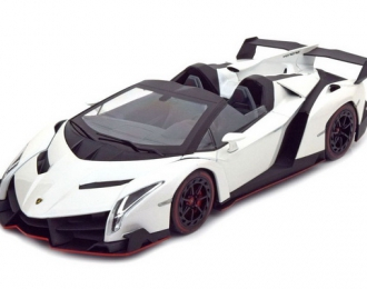 Lamborghini Veneno Roadster (white / red line)