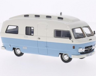 MERCEDES-BENZ L206D Orion II Camper (кемпер) 1974 White/Light Blue