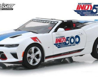 CHEVROLET Camaro SS Convertible 101 Running Indy 500 Presented 2017 White