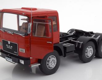 седельный тягач MAN 16304 (F7) 1972 Red