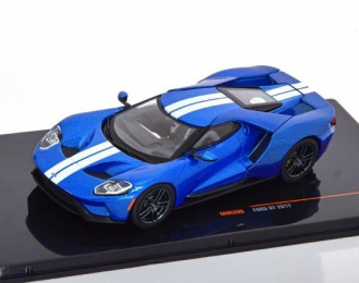 FORD GT 2017 Blue/Silver
