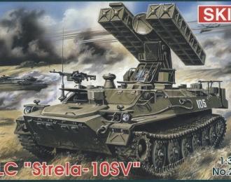Сборная модель Советский ЗРК 9К35 Стрела-10СВ