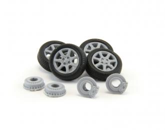 Комплект колес №1 для LADA (Приора, Калина, Самара, 2110-2112)