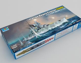 Сборная модель Итальянский Тяжелый Крейсер Fiume