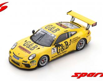 Porsche 911 GT3 Cup #2 Champion Porsche Carrera Cup Scandinavia 2018 Lukas Sundahl