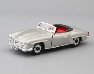MERCEDES-BENZ 190 SL Roadster (1955-1963), silver / red
