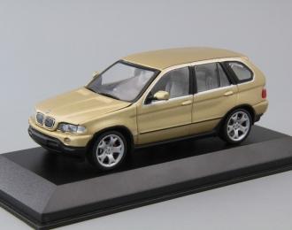 BMW X5 4.4i E53 (2000), gold